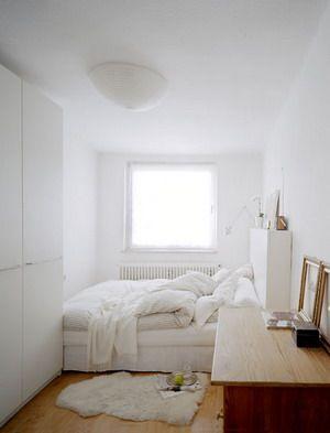 El color blanco en una peque a habitaci n proyectos que - Decoracion habitacion individual ...