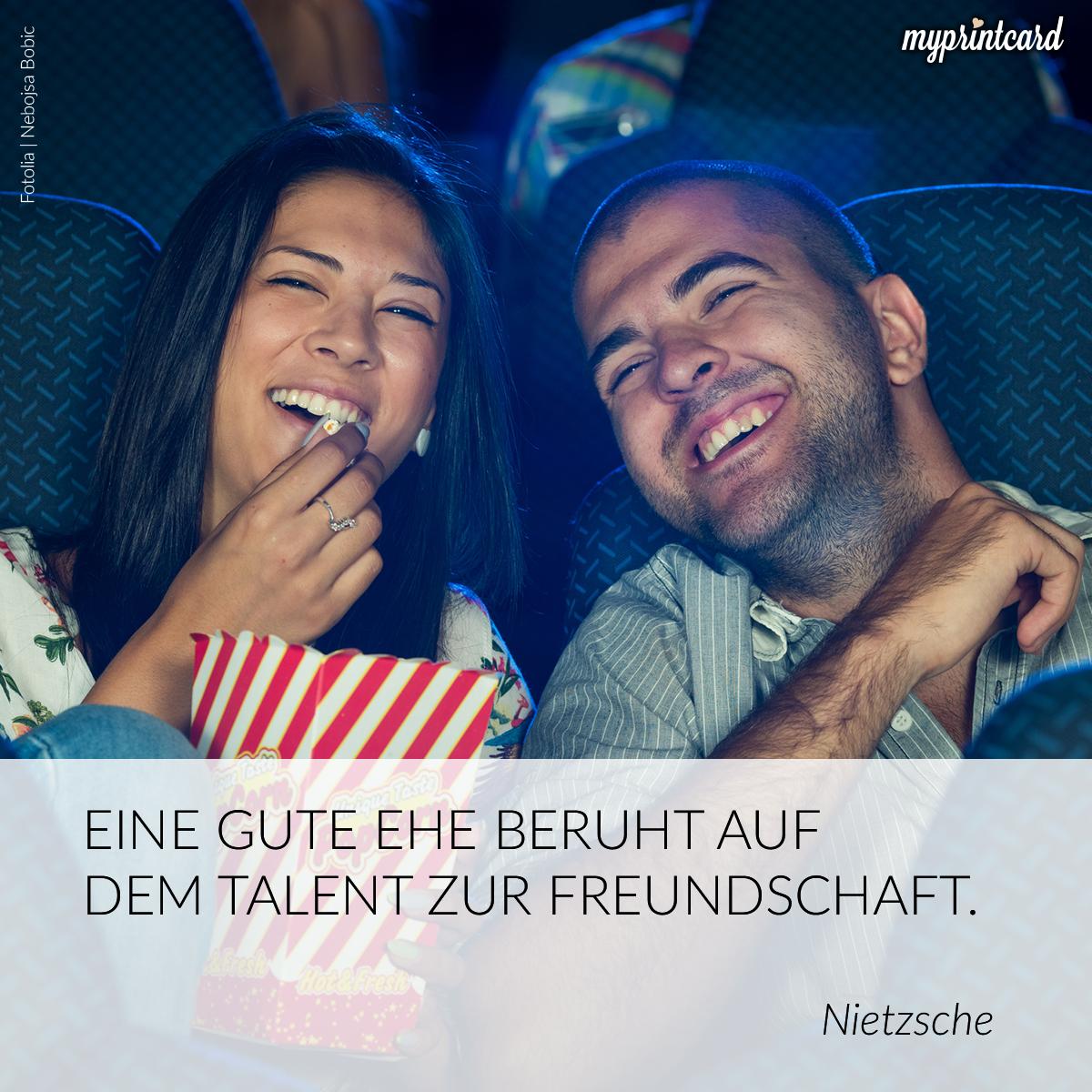 Eine Gute Ehe Beruht Auf Dem Talent Zur Freundschaft Nietzsche Ehe Freundschaft Zitat Liebe Quote Love Kino Popcorn Schone Liebeszitate Ehe Zitate