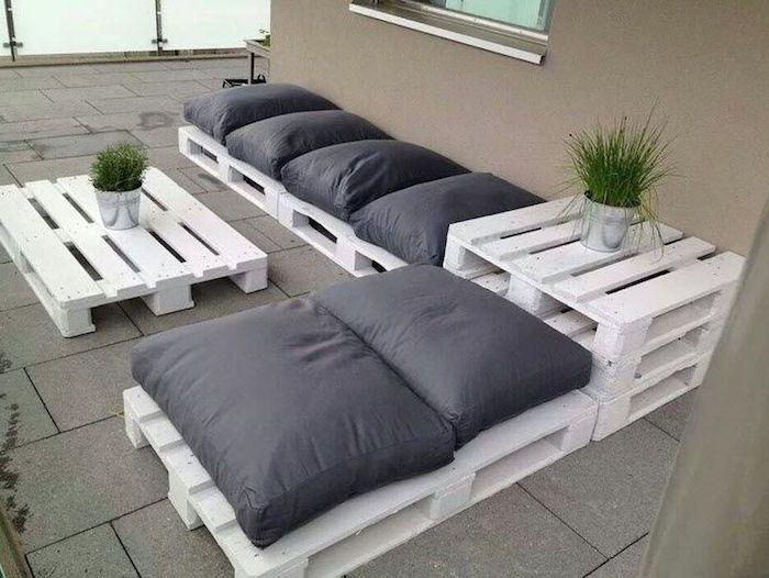 52 idées pour fabriquer votre meuble de jardin en palette | Décors ...