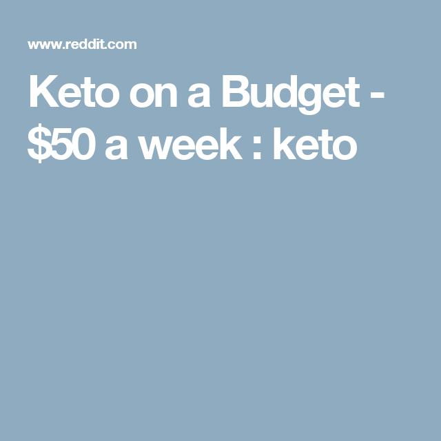 Keto on a Budget - $50 a week : keto | Keto on a budget ...