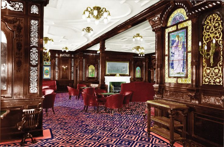 Inside The Titanic 1st Class Google Search R M S Titanic Pinterest Titanic