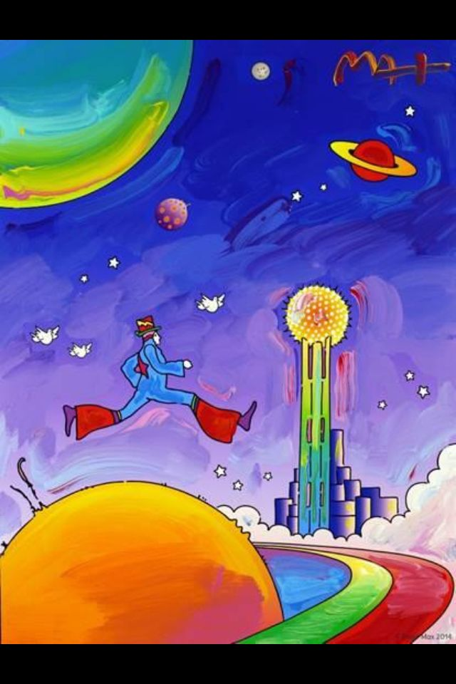 Peter Max does Dallas | Dallas County, USA | Peter max art ... Peter Max 60s