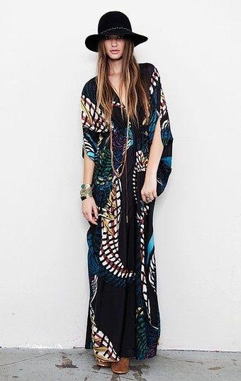 Bohemian Style| Serafini Amelia| Boho Chic Styling | Bohemian ...