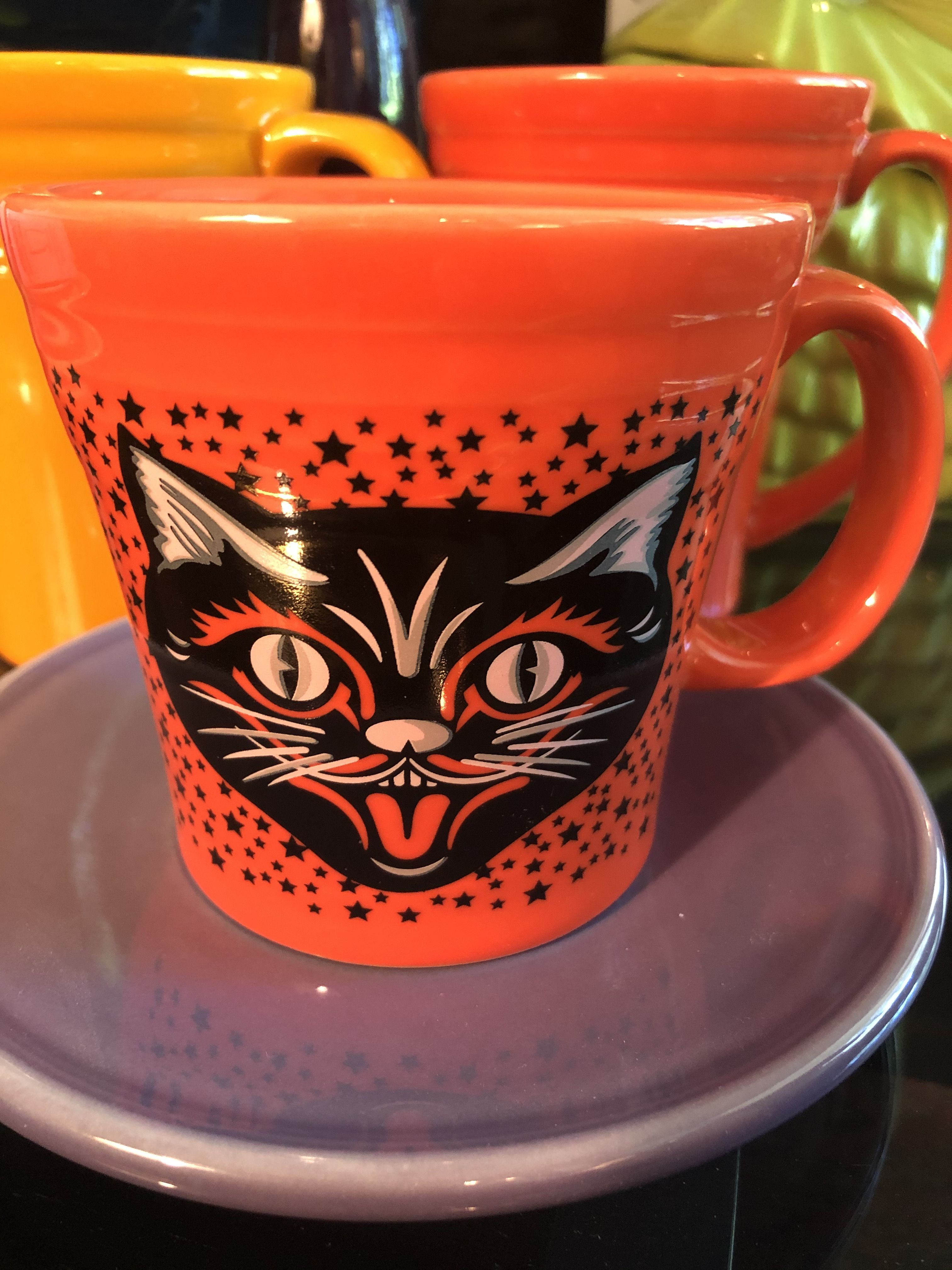 When Does Halloween 2020 Come Out In China Fiesta Black Cat tapered mug. 2020gr in 2020 | Black cat halloween