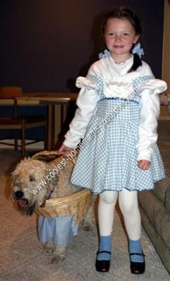 Homemade Toto Dog Costume My children decided they wanted the family to do the Wizard of OZ theme this year for Halloween. We certainly did not want to ...  sc 1 st  Pinterest & Coolest Homemade Toto Dog Costume | Costumes Halloween 2017 and ...