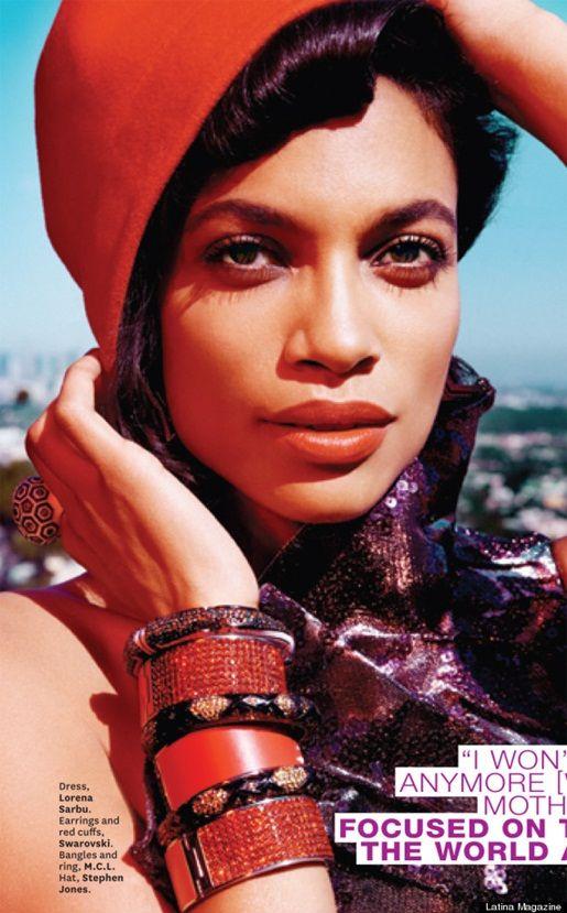 Rosario Dawson Covers Latina Magazine   StyleBlazer