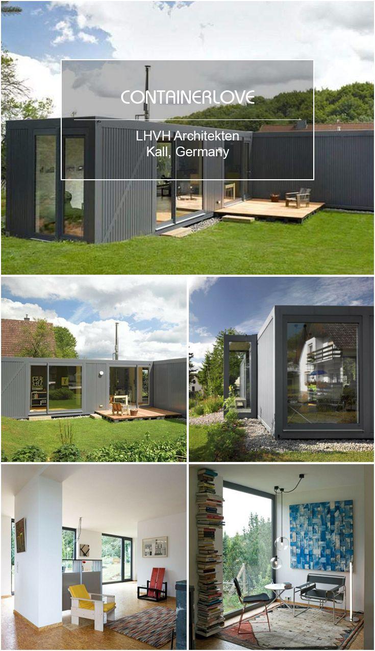 Lhvh Architekten container container lhvh architekten kall germany container