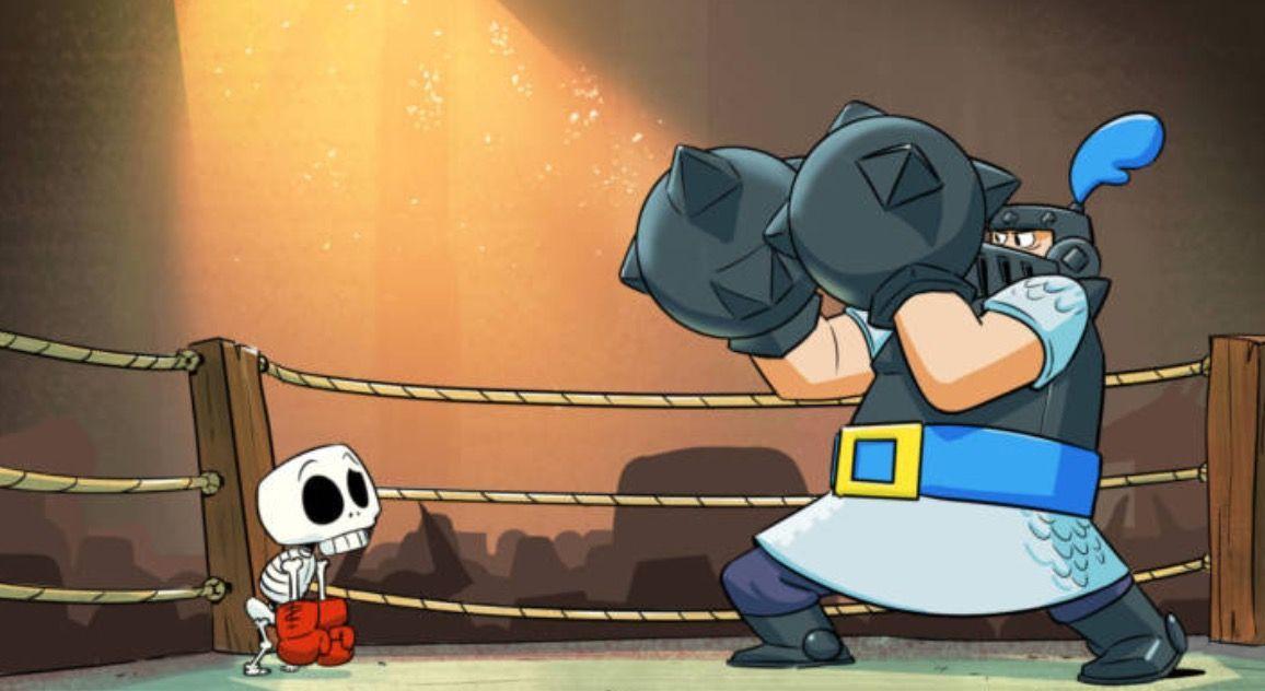 Mega Caballero Vs Larry Por Ash El Gamer Lacra De Clash Royale Dios