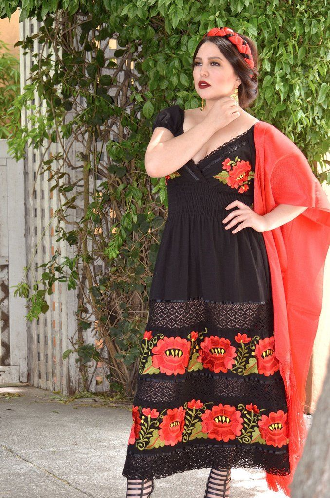 8f41d755c88fc5 Description Item Details (ready to ship) we can custom made the dress for a  perfect fit and color of your choice.Beautiful Mexican Dress in cotton  fabric ...