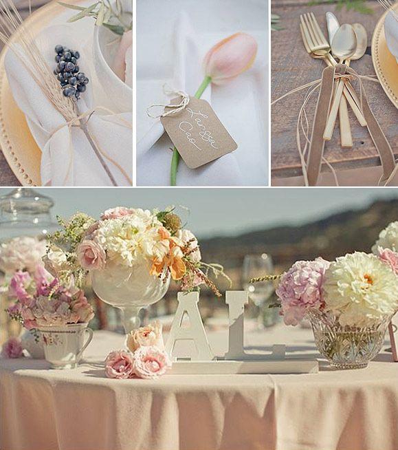 Peque os detalles para decorar las mesas del banquete en for App decoracion