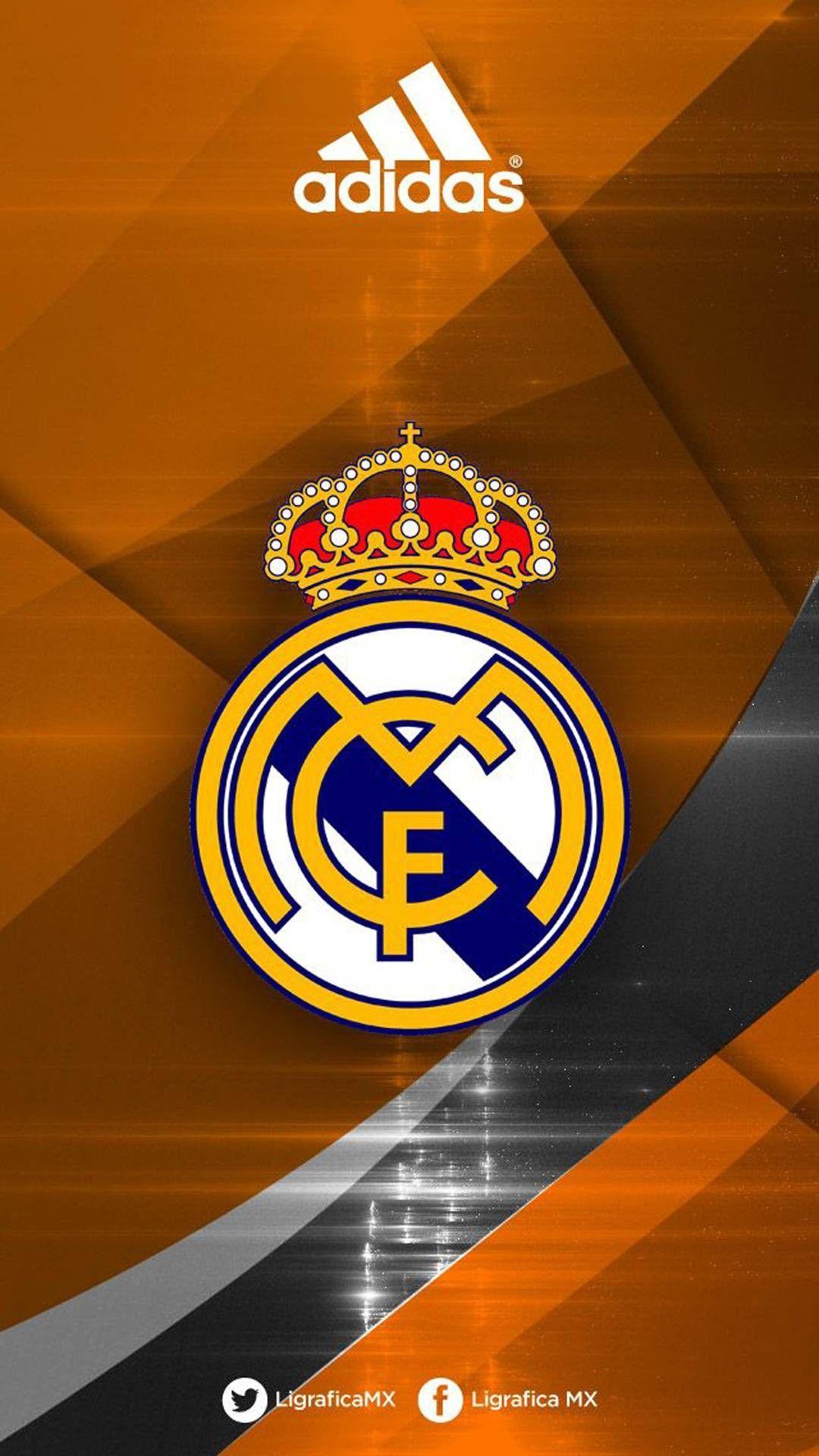 Real Madrid adidas phone wallpaper