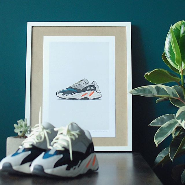 c2f6270ee06e9 What s your favourite Yeezy  Comment below...💬👇🏻 — Grab this Wave Runner  Print