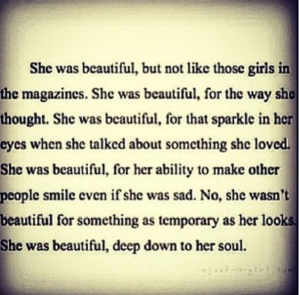 Beauty Is More Than Skin Deep Quotes And Such Palabras