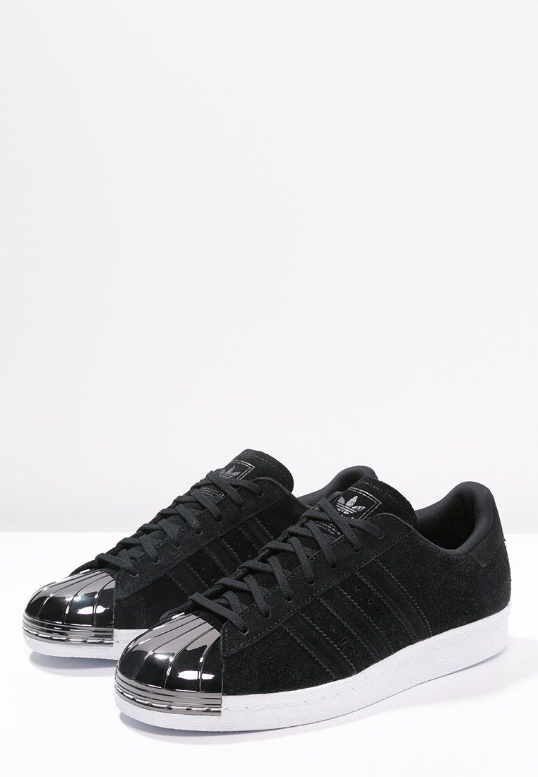 adidas Originals SUPERSTAR 80S Noir - Chaussures Baskets basses Homme