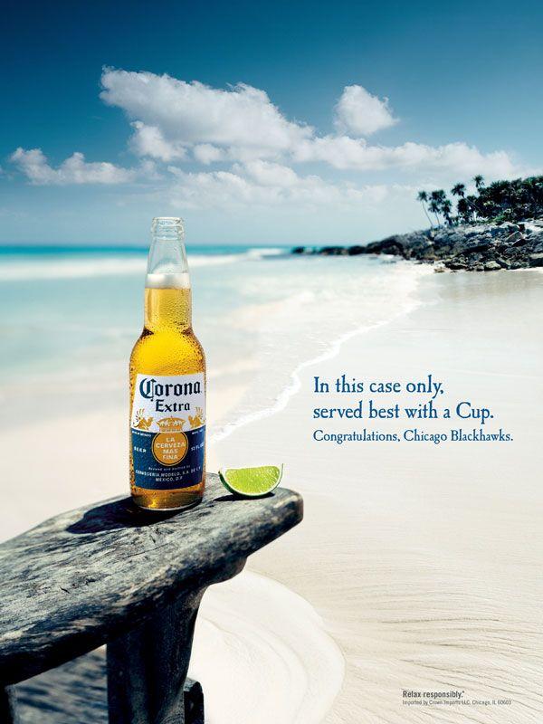 28 total entspannte Corona Print Ads (mit Bildern)   Bier ...