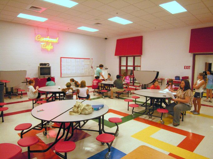 school cafeteria design | Schools acquired the architectural ...
