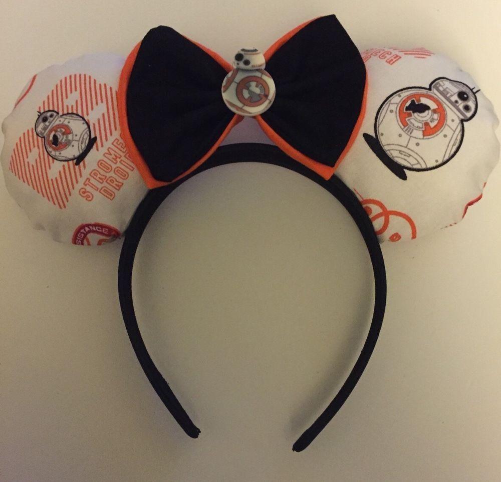 Disney BB-8 Star Wars Mickey Mouse Ears