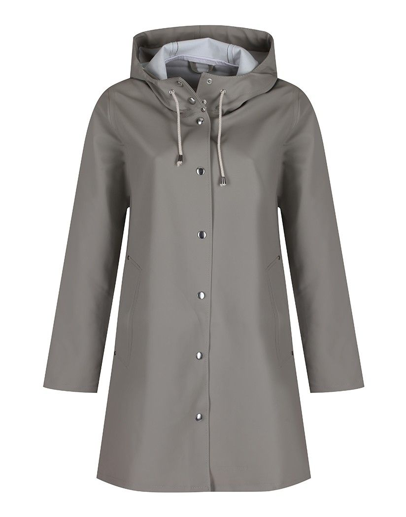 Stutterheim Women's Mosebacke A Line Raincoat - Potato   Country Attire