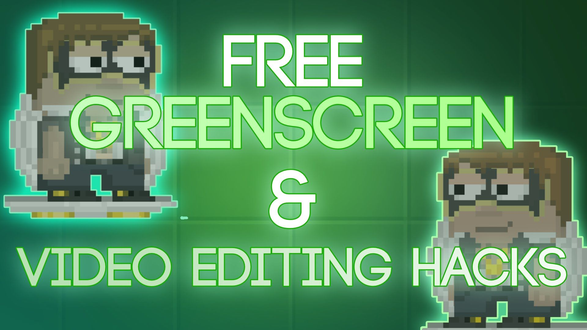 """How to make a """"GREENSCREEN"""" for FREE and other filmmaking"""
