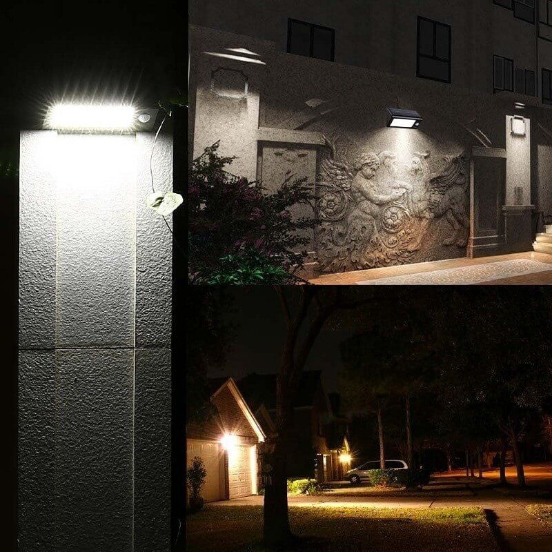 Electrika™: Wireless Solar POWERED Outdoor PIR Motion Sensor Waterproof LED Light