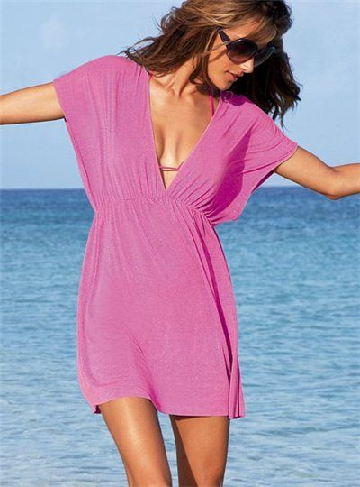 Como hacer vestidos de playa cortos