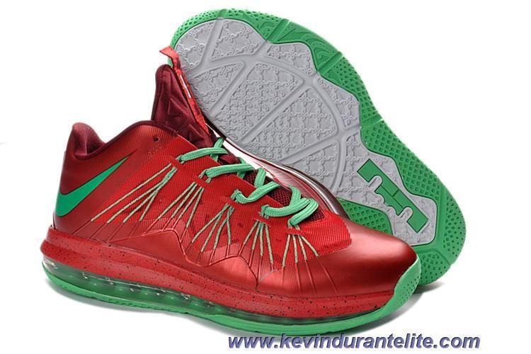 Watermelon 343115 600 2013 Nike Air Max Lebron 10 Low Sale