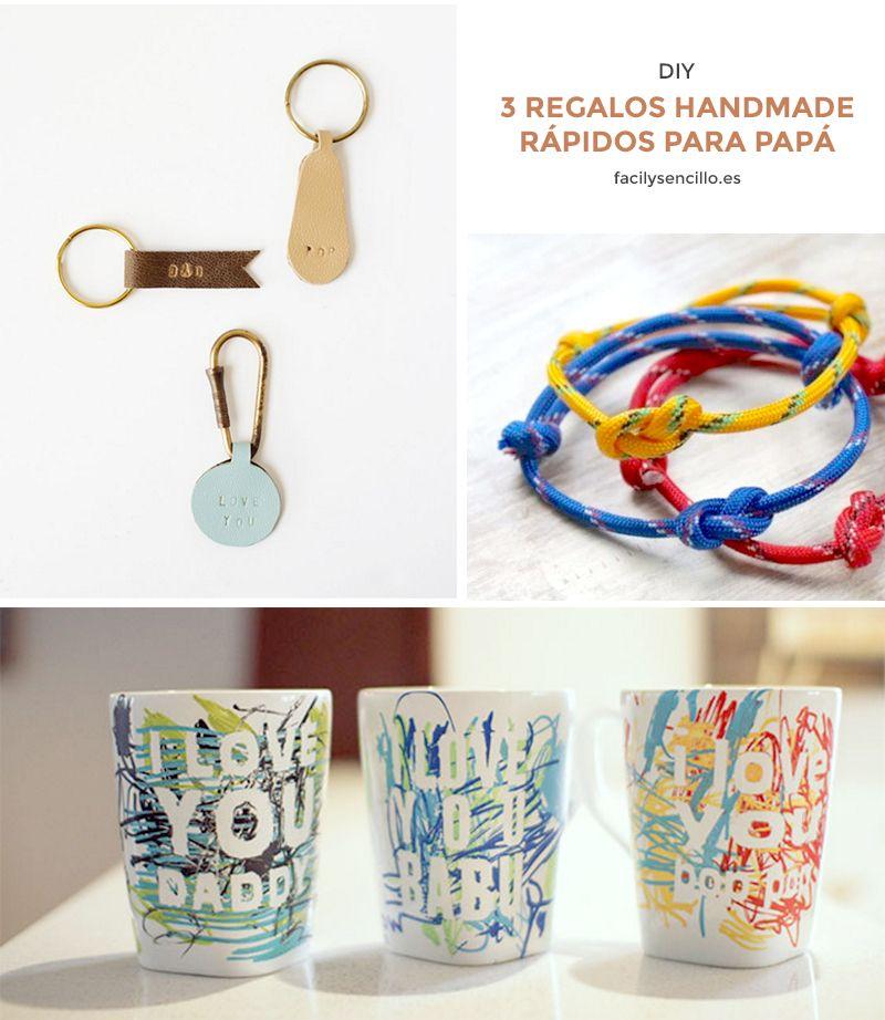 3 regalos handmade r pidos para pap regals regalos - Regalos faciles y rapidos ...