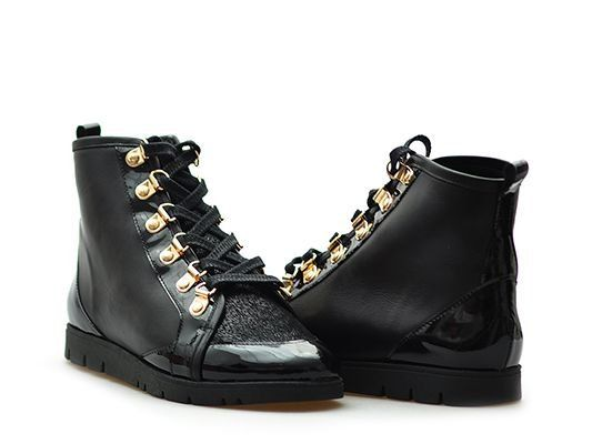 Botki Damskie Ulmani Shoes 128158 L1 37 Arturo 6437624531 Oficjalne Archiwum Allegro Boots Combat Boots Dr Martens Boots