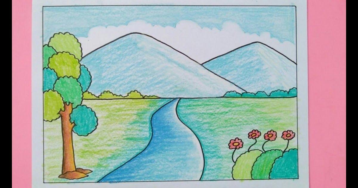 Gambar 2 Dimensi Pemandangan Gunung Sempoa Dunia