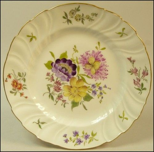 Antique Dresden Porcelain Hand Painted Cabinet Plate NR | eBay | 100 ...