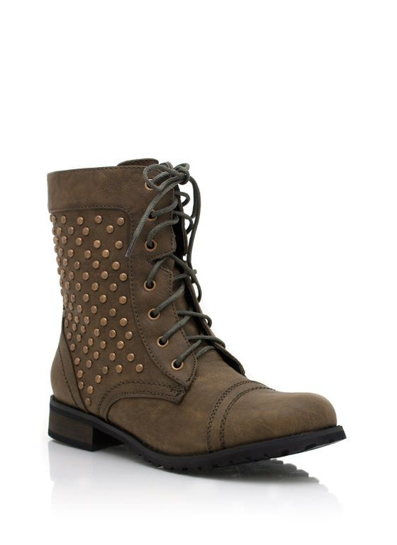 3a0a80e59ab6 Lace-up combat boots are a cool girl staple. You definitely need these.   combat  boots