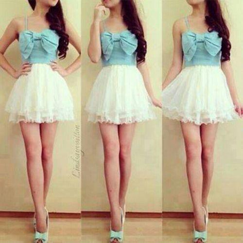 Bow + Skirt <3
