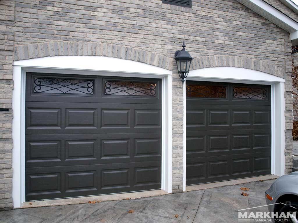 Clopay Long Elegant 4310 With Tuscany Wrought Iron Custom Painted Garage Doors Garage Door Design Outdoor Lamp Posts