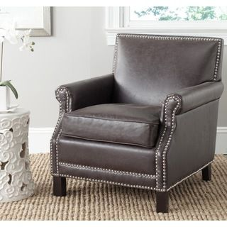 Safavieh Easton Antique Brown Club Chair Ping Great Deals On Living
