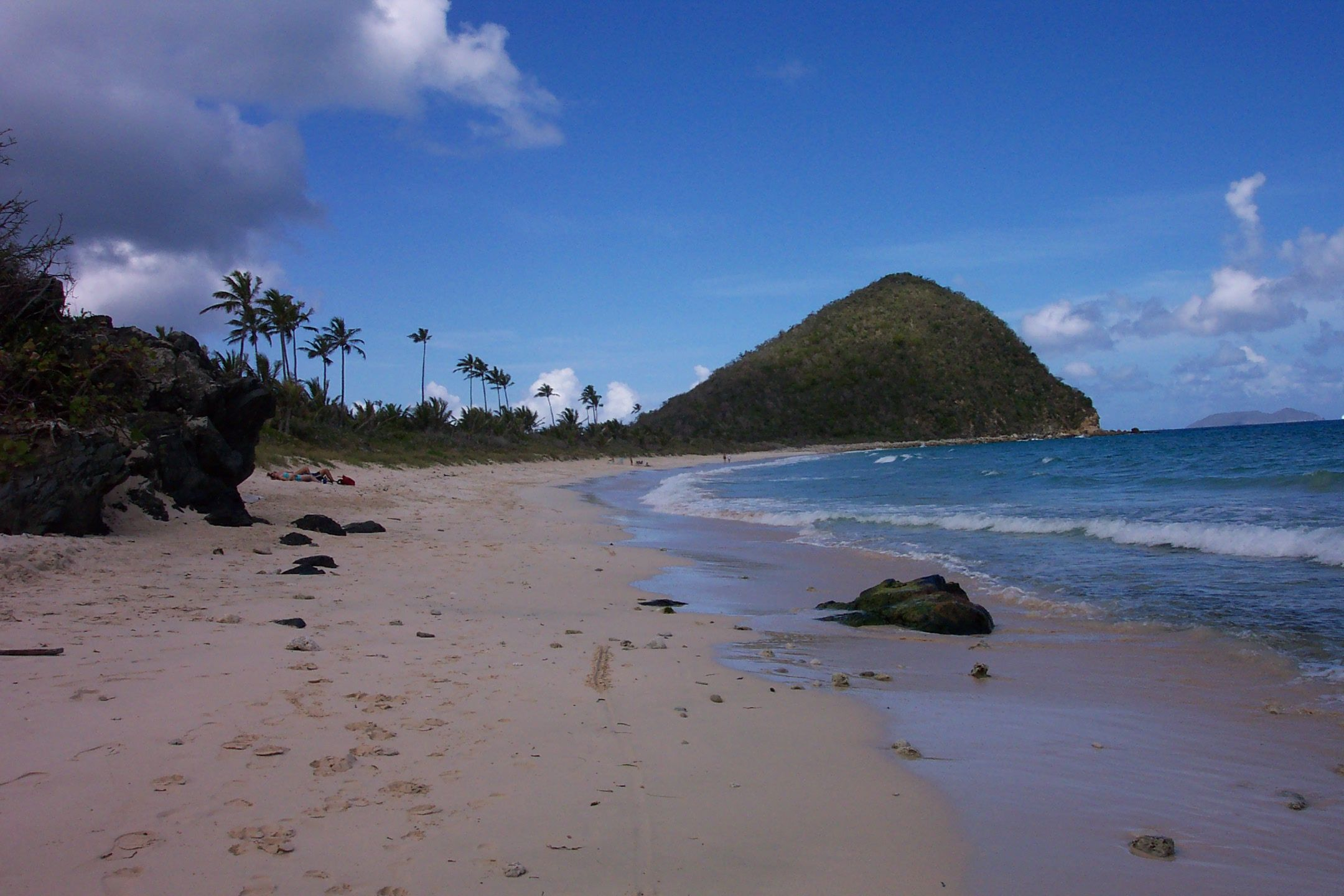 Feel the sand between your toes in nevis wimco nevis