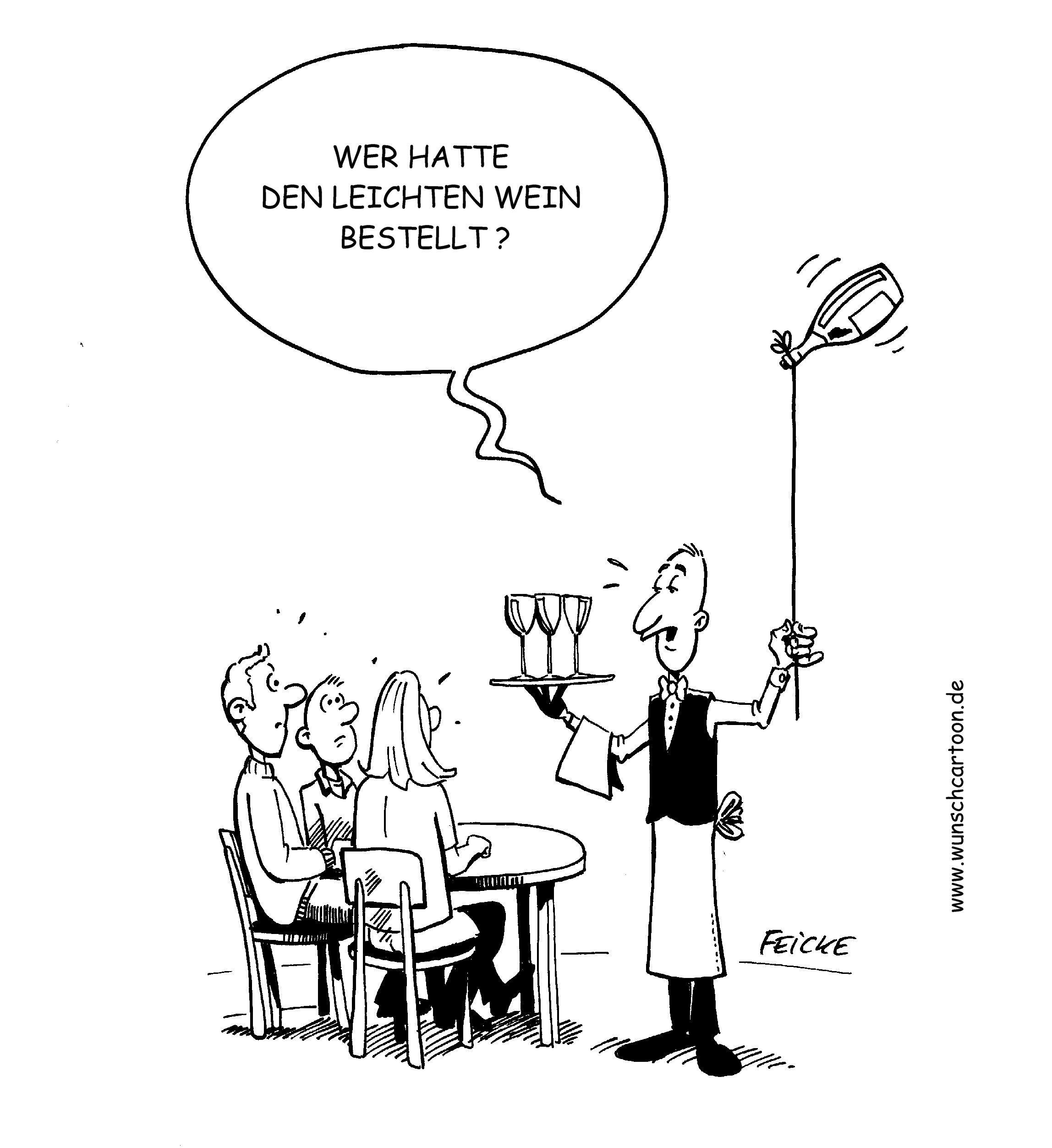 Wein Cartoon