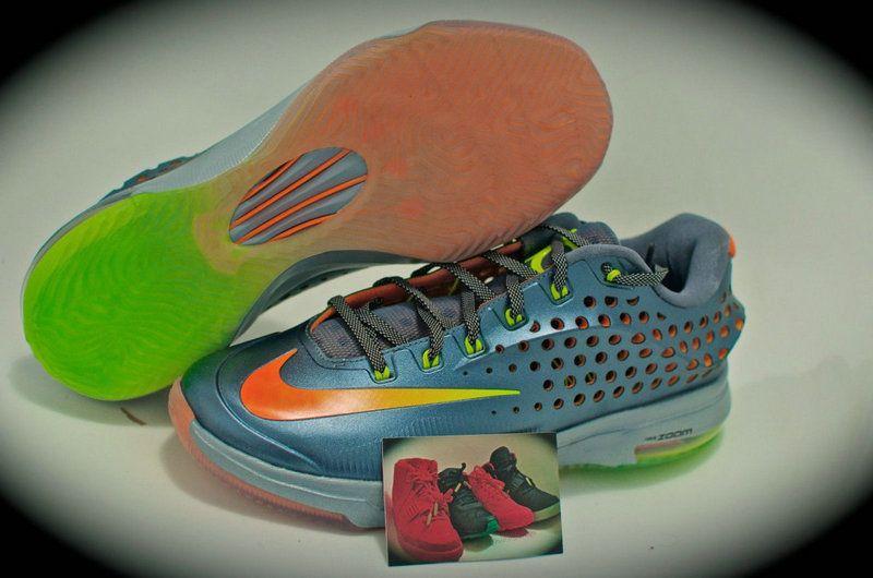 separation shoes 45ed4 272ff KD 7 Elite Turquoise Green Orange
