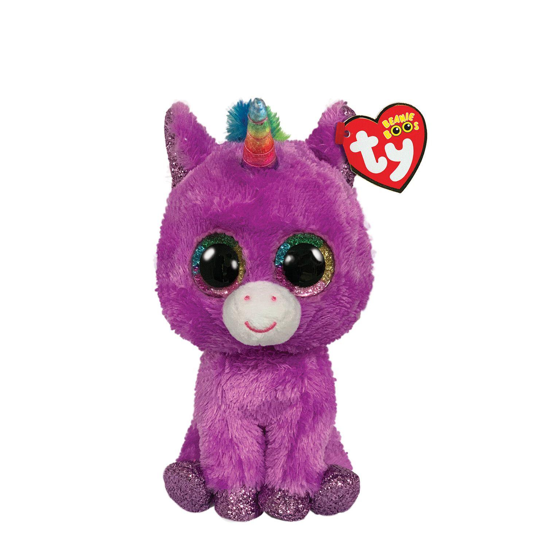 "2019 TY Beanie Boos 6/"" KENYA the Lavender Ostrich Plush Stuffed Animal Toy MWMTs"