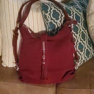 Photo of Mini Leather Backpack, Leather Bag, mini Leather bag shoulder bag, bag, woman bag, handmade bag, small bag, girl bag, Modern bag