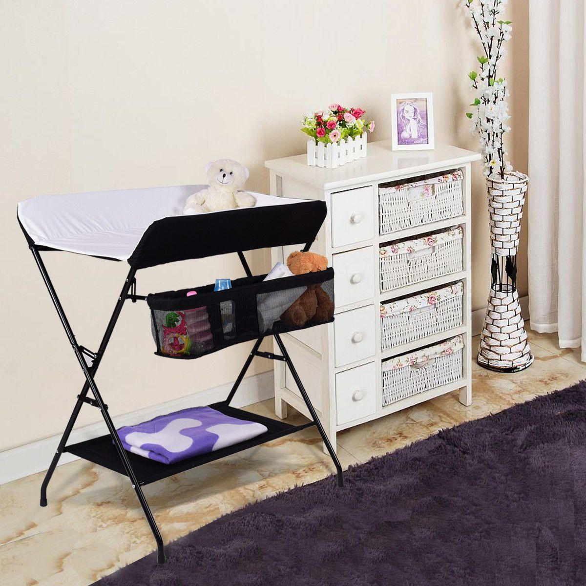 10 Best Portable Changing Tables Omy9 Reviews Diaper Changing Table Baby Changing Table Nursery Changing Table [ 1200 x 1200 Pixel ]