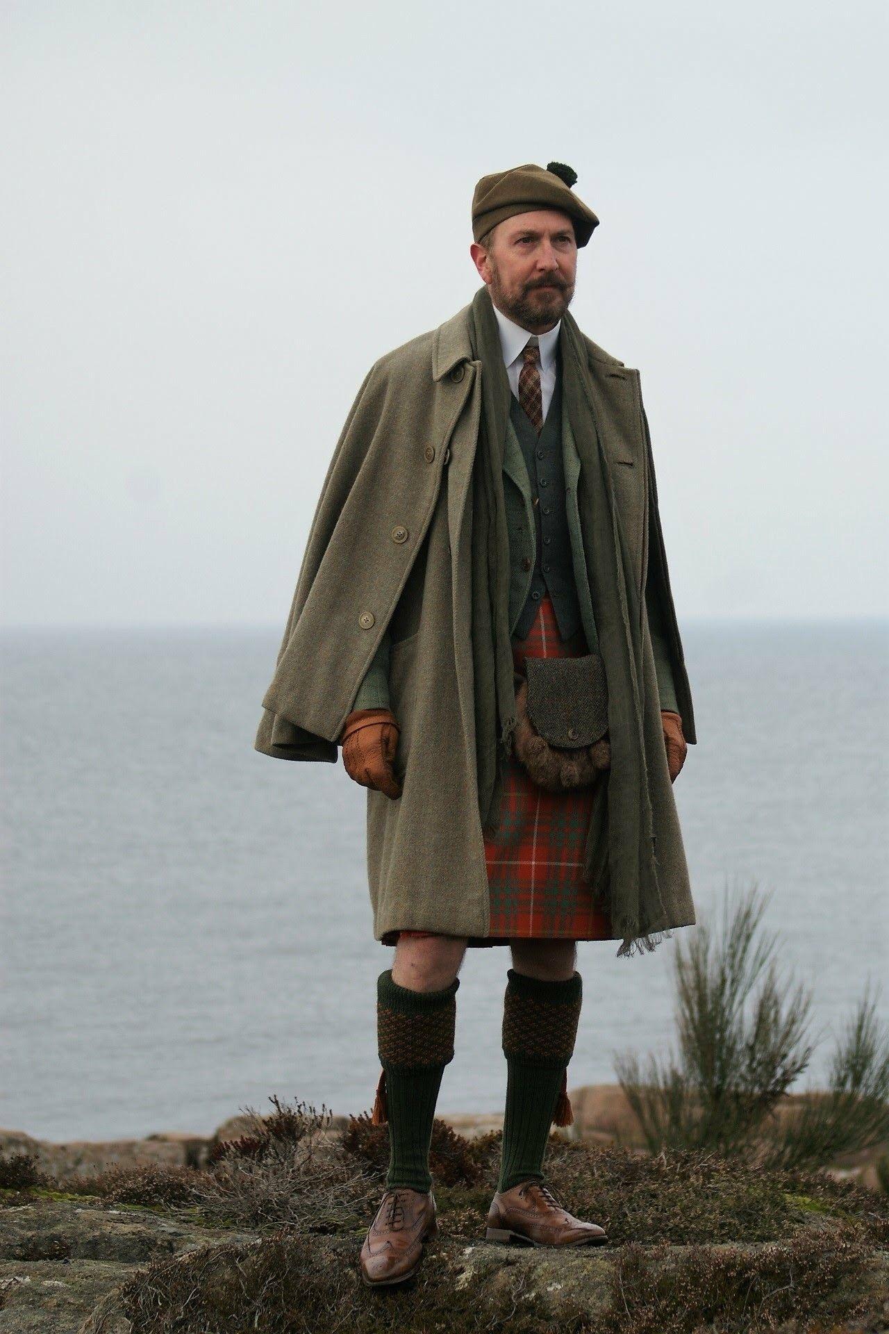Kilt and Inverness Cape.. Bornholm 7e54aa1093c