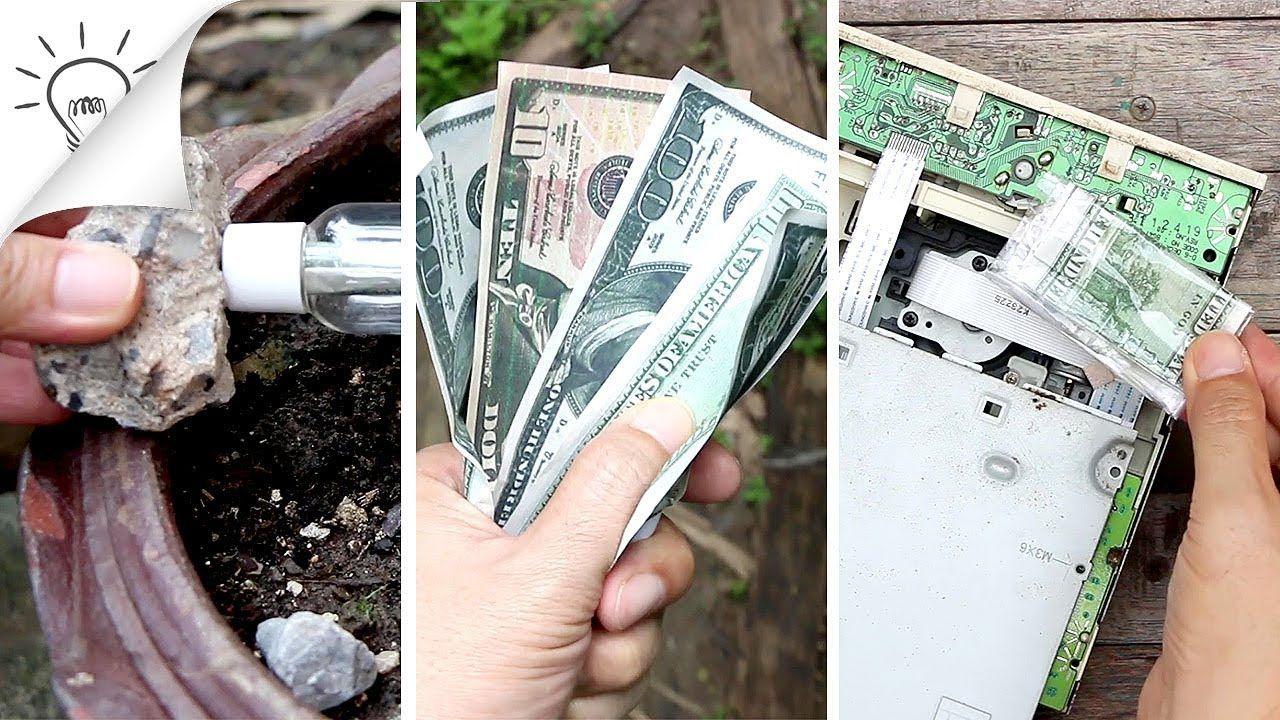 30 Ways To Hide Money At Home Youtube Ways To Hide Money