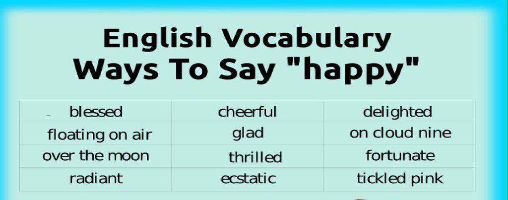 "English our way on Twitter: ""Aprende a decir contento en#inglés de distintas maneras @Englishourway https://t.co/BswFz1BaZh"""
