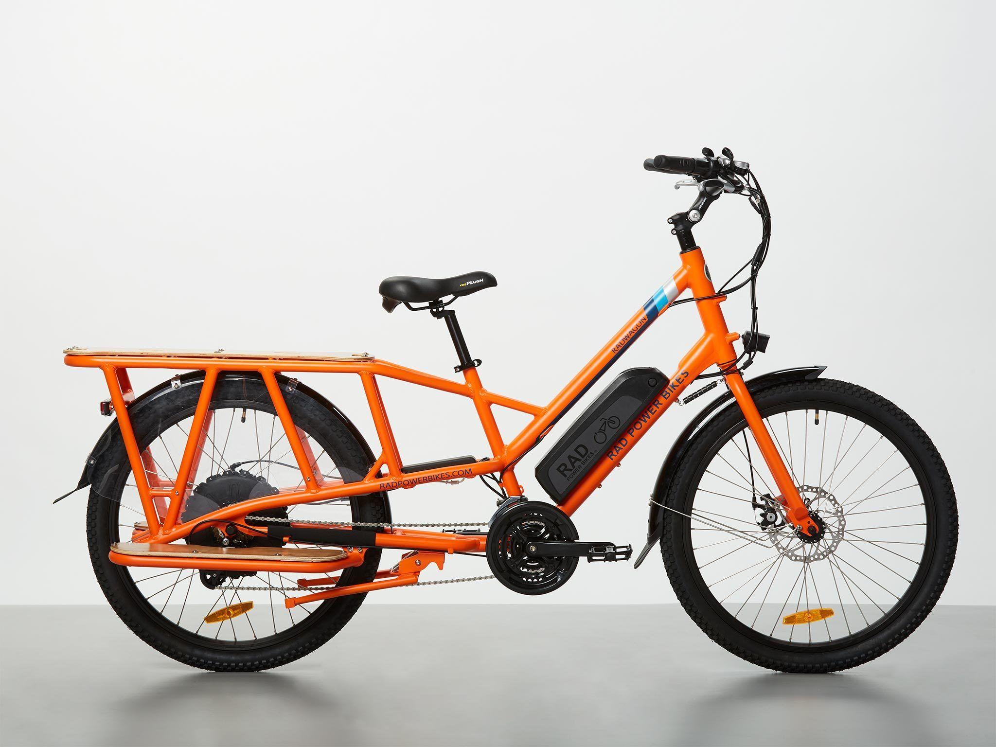 Radwagon Electric Cargo Bike Version 4 Cargo Bike Electric Cargo Bike Power Bike