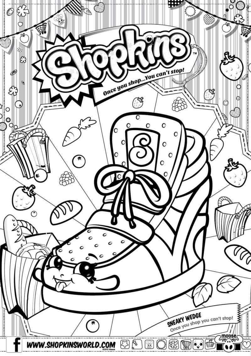 Shopkins Coloring Pages Season 2 Sneaky Wedge | coloring pages ...