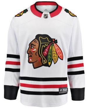 buy online 9b63f 27e5b Nike Men's Chicago Blackhawks Breakaway Jersey - White L in ...