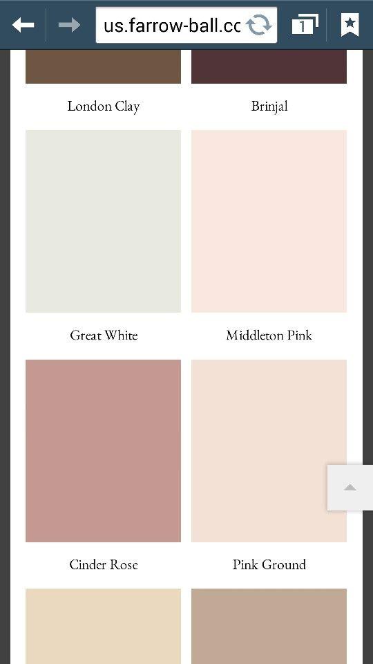 Best Farrow Ball Paint Middleton Pink Pink Ground Farrow 400 x 300