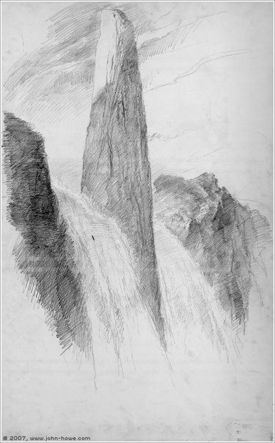 Boromir's Last Voyage by John Howe