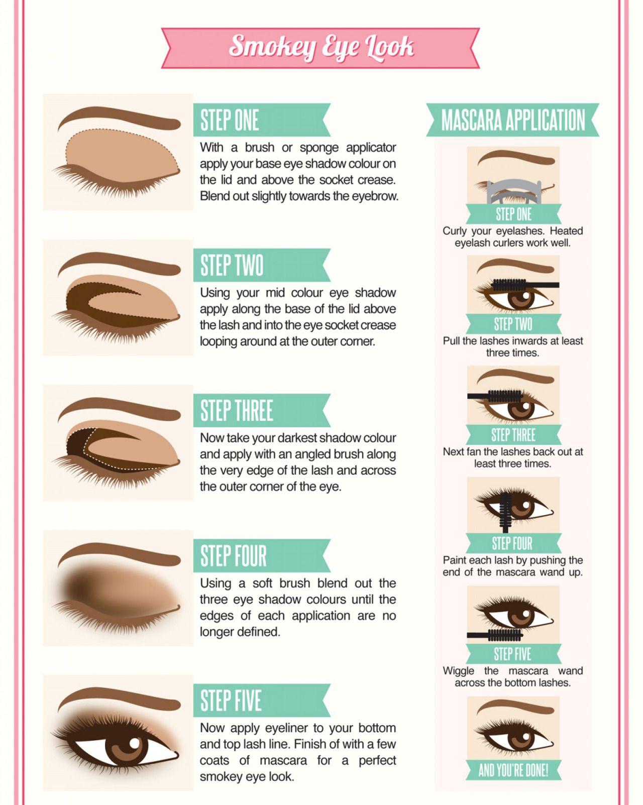 9 Steps To Follow for Perfect MakeUp Smokey eye makeup