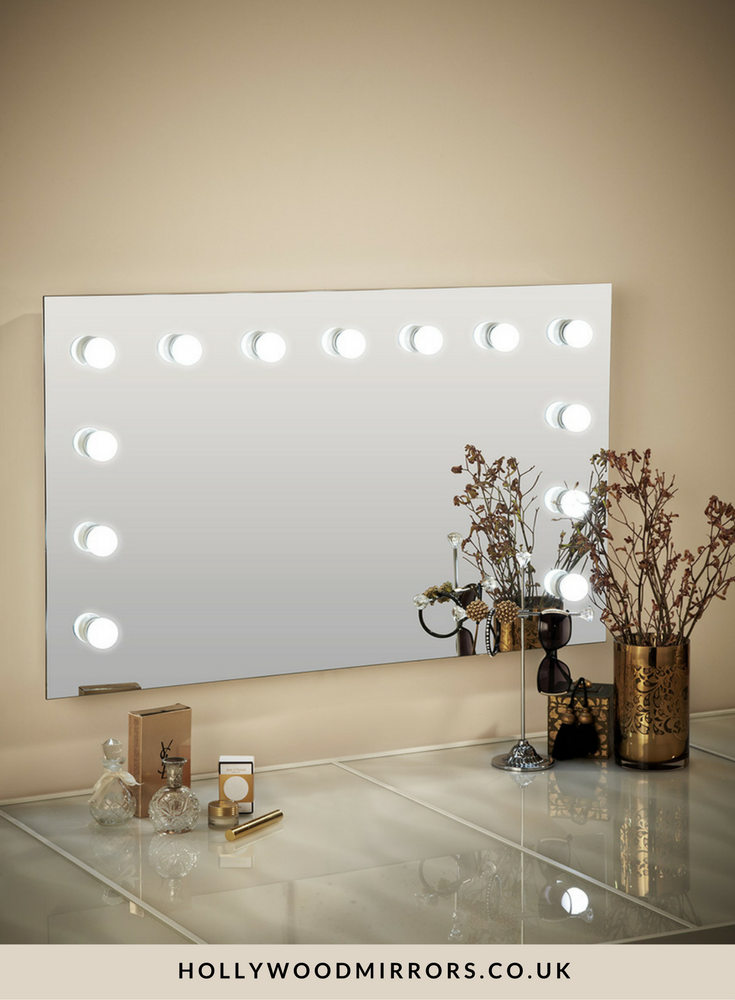 Nicole Hollywood Mirror Wall Mounted Xl 60 X 100cm Big Room
